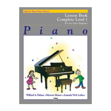 Alfred's Basic Piano Library: Lesson Book Complete Level 2/3 - ABC